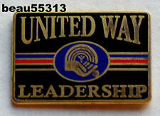 UNITED WAY LEADERSHIP VEST JACKET HAT TAC LAPEL PIN