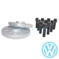 Volkswagen Spacers Hub Centric 15mm   5x100, 5x112, 57.1   2 Pc Kit Radius Bolts
