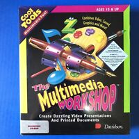 The Multimedia Workshop CD-ROM Macintosh by Davidson Bigbox '95 brand new Sealed