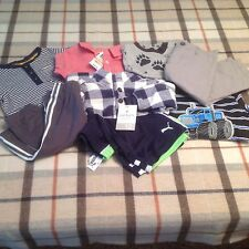 Baby Boy's NWT clothes mix lot 6-9-12-18-24 mo Puma,Carter's, First Impressions
