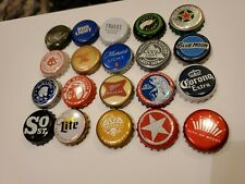 Mostly All Craft Beer Bottle Caps Undented No Dents Used Lot of 20 AS IN PICTURE