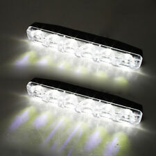"6"" Led Daytime Running Lights Indicator Drl Fog Car Van Offroad Pickup E-Marked"