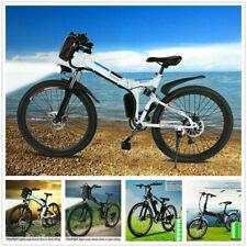 """20"""" 26"""" Electric Mountain Bike Bicycle E-bike Folding Cycling Citybike E-MTB UK"""