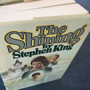 Stephen King The Shining 1977 Book Club Edition Hardcover With Dust Jacket