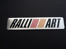 Mitsubishi RALLIART Emblem Car Modified Badge Decal Aluminum for Lancer EVO