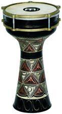 S899915 MEINL Percussion He-204 - Darabouka in Rame con Pelle Naturale incisa a