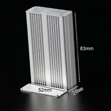 1pcs Aluminum Alloy Instrument Shell Electric Enclosure Box DIY 20x52x83mm s259