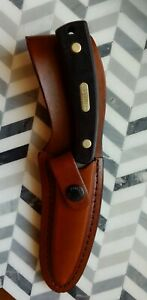 Schrade Old Timer 1580T Gut Hook Hunting Skinning Knife With Sheath NIB
