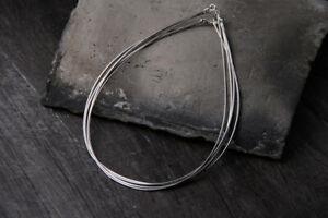 B25 Collier Chaîne 925 Sterling Argent Longueur au Choix Épaisseur 1,2 MM