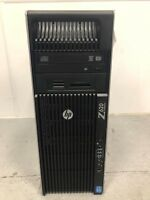 HP Z620 - 2x Intel Xeon 8Core E5-2690@2.90GHz, 96GB@1600MHz DDR3, 256GB SSD+2TB,