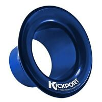 Kickport 2 Sonic Enhancement Bass Kick Drum Acoustics Enhancer Port Insert BLUE