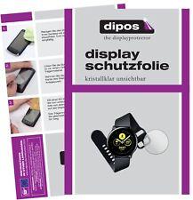 2x Samsung Galaxy Watch Active Schutzfolie klar Displayschutzfolie Folie Display