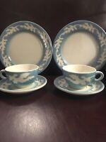 vintage syracuse china. Blue Oakleigh.restaurant ware