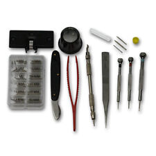 Euro watchmakers tool kit watch repair tools kit case back remover screwdrivers