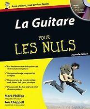La Guitare pour les nuls (+ 1CD audio) von Mark Phillips...   Buch   Zustand gut