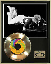 "Elton John ""Rocket Man"" Record Display Wood Plaque"