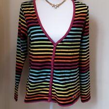 Little Marcel striped vneck knit top sz XL (fits like L)