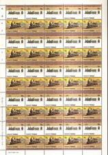 1885 SA Class Y 2-6-0 South Australia Train 50-Stamp Sheet / LOCO 100 LOTW