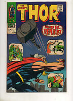 Thor #141 HIGH GRADE NM- 9.2 GORGEOUS BOOK 1ST APP REPLICUS! Jack Kirby Art 1967
