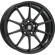 Alloy Wheels Sparco Assetto Gara Black Smart Fortwo Forfour 453 17 Inch