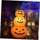 Inflatable Outdoor Holiday Yard Decorations - 4 ft Pumpkin Halloween White