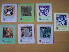 Sierra Leone,2003,50Th Anniv Of Coronation,7 Vals,U/M,Cat £13.30.Excellent.