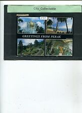 P707 # MALAYSIA USED PICTURE POST CARD * GREETING FROM PERAK