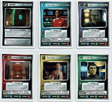 Star Trek Ccg Erste Anthology 1, Set mit 6 Limitierte Karten