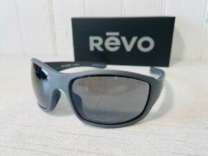 REVO RE1098 00 GY MAVERICK Matte Graphite wPOLARIZED Graphite Lenses Suns $159