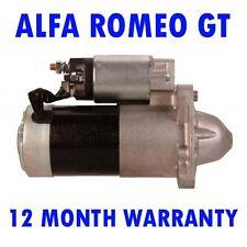 Alfa romeo gt 1.9 jtd 2008 2009 2010 coupe starter motor 12 month warranty