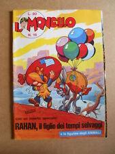 IL MONELLO n°16 1971  con inserto RAHAN + Figurine ANIMALI [G422]