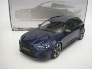 Audi RS6 Rs 6 Avant 2019 Blue Metallic 1/18 minichamps 155018011 New
