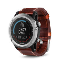 Garmin Fenix 3 Multisport GPS Watch Sapphire With Leather Band