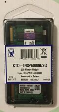 Kingston 2GB (KTD-INSP6000B/2G) DDR2 667MHz PC2-5300 200-Pin SODIMM Laptop RAM
