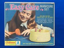 1971 Kenner Girls Easy Care Manicure Set MIB Working & RARE!