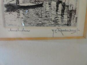 AMSTERDAM by Hendrikus Elias Roodenburg (1895-1987) - Early 20th Century
