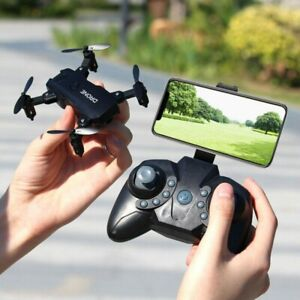 S107 Foldable Mini Drone RC 4K FPV HD Camera Wifi FPV Drone Selfie RC Helicopter