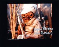 STEPHEN FITZALAN as a Mon Calamari   - Star Wars GENUINE AUTOGRAPH UACC (R5514)
