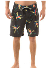 2017 NWT MENS CAPTAIN FIN JUNGLE JAM BOARDSHORTS $50 32 charcoal swimsuit