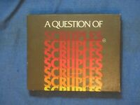 A Question of Scruples 1984 Board Game Vintage  Game
