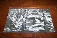Rare Vintage RPPC Real Photo Postcard A2 Franconia Notch White New Hampshire