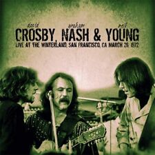 CD - CROSBY, NASH & YOUNG - Live At The Winterland, CA, 1972. New/Sealed