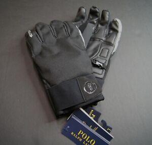 POLO RALPH LAUREN Men's Reflective Logo Water Repellent Glove NEW NWT