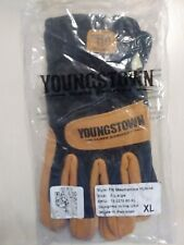 "XL ~  1 Pair of ""New"" Youngstown Hybrid Gloves ""Fire Resistant""  ""Cut Resistant"""