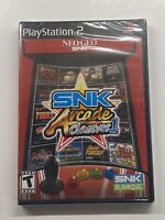 SNK Arcade Classics, Vol. 1 (Sony PlayStation 2, 2008) BRAND NEW SEALED!!