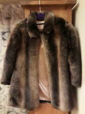 Girls Fuax Fur Coat Monsoon 9 to 10