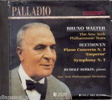 Bruckner: Sinfonia (Symphony) N. 7, Concewrto N.5 / Bruno Walter, Serkin - CD