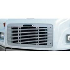 Freightliner FL 60/70/80/106/112 Grille with Bug Screen, Silver