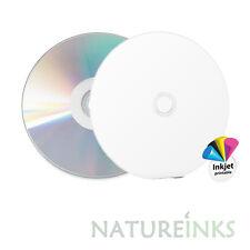 5 Ritek Excellence Series Diamond White Printable 700MB Blank CD 52x 80M Discs