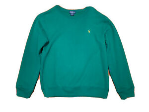 New  kids boys ralph lauren Polo Cotton-Blend-Fleece Sweatshirt Size L(14-16)